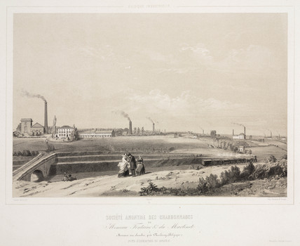 Monceau Fontaine & du Martinet Coalmining Ltd, Belgium, 1830-1860.