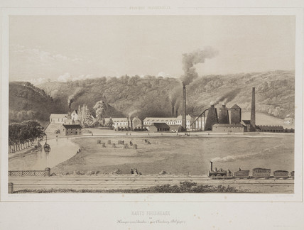 Furnaces, Belgium, 1830-1860.