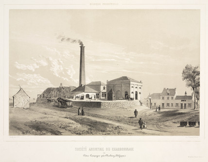 Coalmining company, Pieton-Campagne, Belgium, 1830-1860.