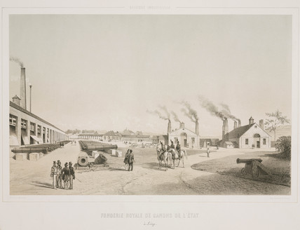 Royal state cannon foundry, Liege, Belgium, 1830-1860.