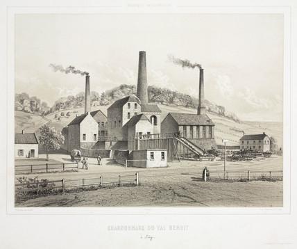 Val Benoit Colliery, Liege, Belgium, 1830-1860.
