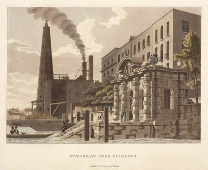 'Watergate, York Buildings', London, 1795.