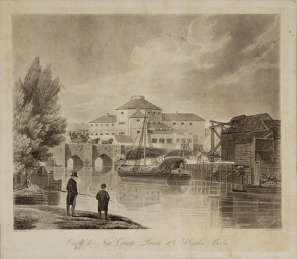 'View of the New County Prison at Abingdon, Berkshire', early 19th century.