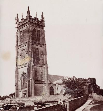 A church, South Wales, 1880-1895.