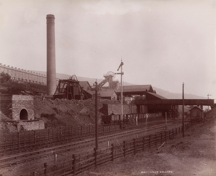 Waun Lwyd Colliery, Wales, 1880-1895.