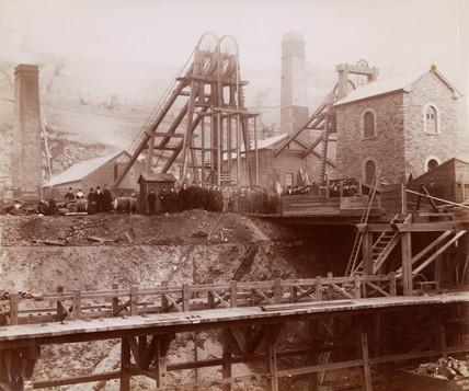 Partridge Jones & Co, Ponsy Pool, Monmouth, Wales, 1880-1895.