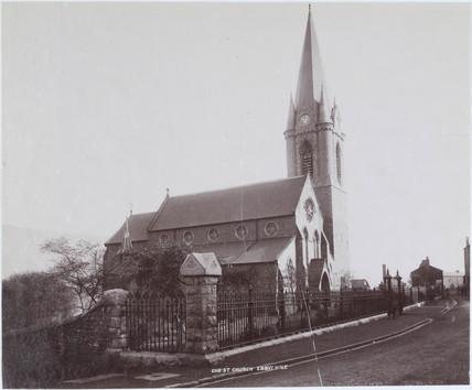 Christchurch, Ebbw Vale, Blaenau Gwent, Wales, 1893-1895.