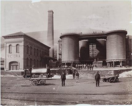Ebbw Vale, Wales, 1893-1895.