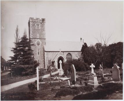 A church, Wales, 1893-1895.