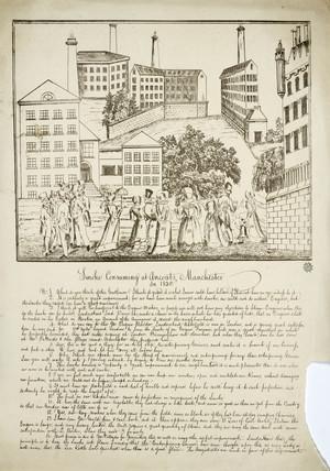 'Smoke consuming at Ancoats', Manchester, 1820 .