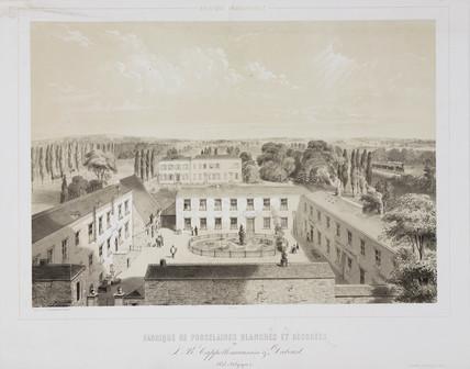 Porcelain factory, Belgium, 1852