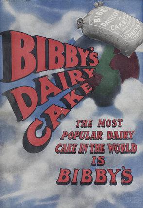 'Bibby's Dairy Cake', calendar, 1908.