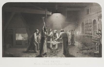 'The Smithy', 1894.