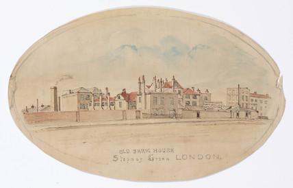 'Old Farm House, Stepney Green, London', 1844-1854.