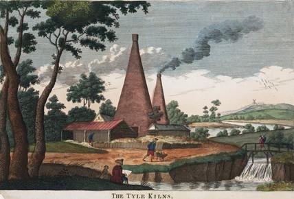 'The Tyle Kilns', 1780-1830.
