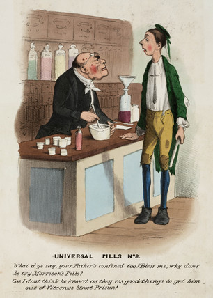 'Universal Pills No 2', c 1825-1850.