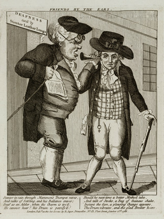 'Friends by the ears', 1786.