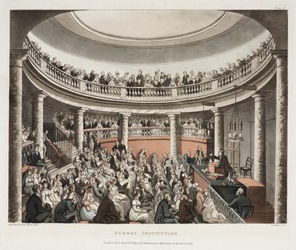 'Surrey Institution', Blackfriars, London, 1808.
