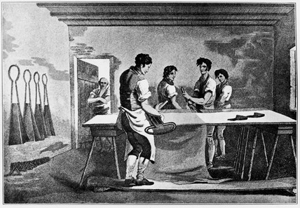 'Cloth Dresers', 1814