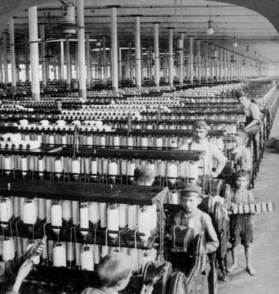 Cotton spinning mill, South Carolina, 1903.