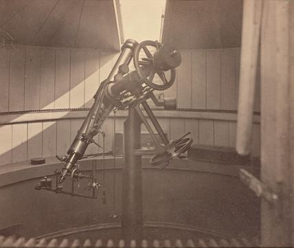 Steinheil's Equatorial telescope, St Petersburg, Rusia, 1876.