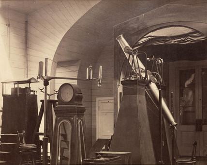 Transit instrument, St Petersburg, Rusia, 1876.