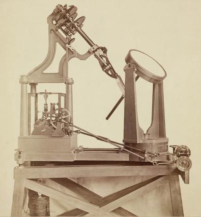 Foncault siderostat, Paris Observatory, France, 1876.