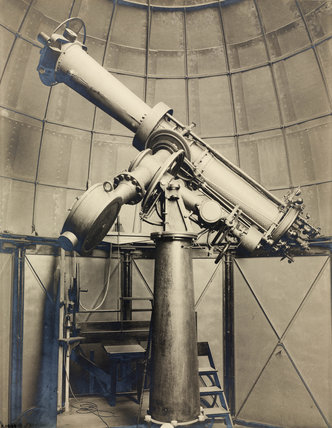 Seven inch heliometer, Cape Town, South Africa, 1909.