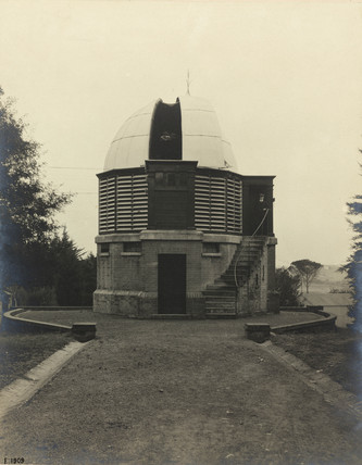 Observatory building for seven inch heliometer, Cape, 1909.