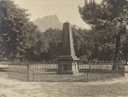 Herschel's Monument, Feldhausen, Claremont, South Africa, 1909.
