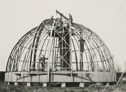 Construction of a 41 inch equatorial refractor telescope, 1928.