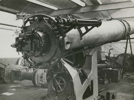 Construction of a 26 inch equatorial refractor telescope, 1928.