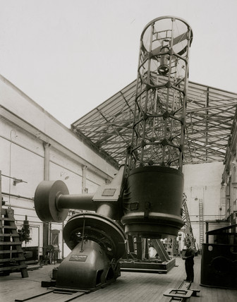 74 inch reflecting telescope, 1933.