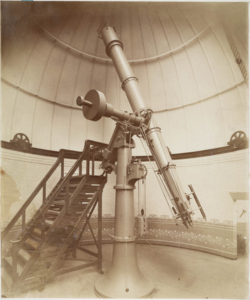 Cook refractor telescope, Wigglesworth Observatory, Scarborough, 1885.