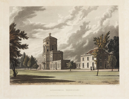 Radcliffe Observatory, Oxford, 1 April 1814.