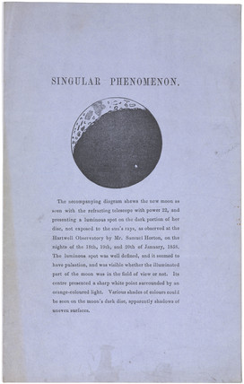 'Singular Phenomenon', Hartwell Observatory, 1858.