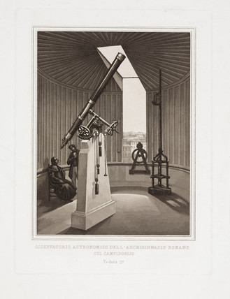 'Astronomical Observatory of the Collegio Romano', Rome, 1855-1878.