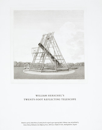 Herschel's 20ft telescope (Credit: Science Museum / SSPL)