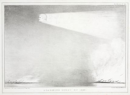 'Alarming Comet of 1835', 10 August 1835.