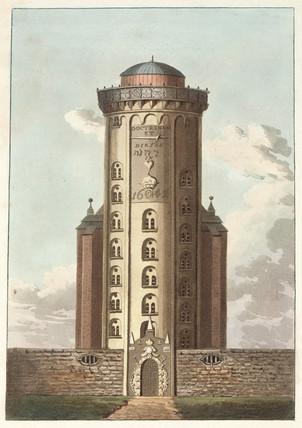 Observatory at Copenhagen, Denmark, c 1830s.