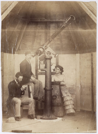 British Transit of Venus Expedition, Station D, 1874.