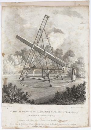 Mr Cooper's refracting telescope, 23 September 1831.