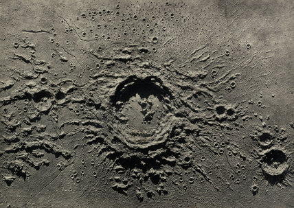 Lunar crater model 'Copernicus', 1850-1871.
