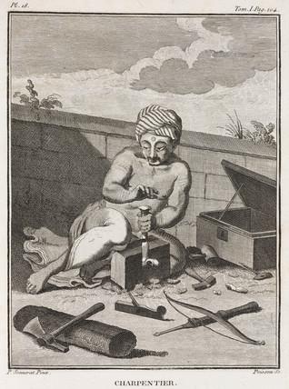 Carpenter, India, 1774-1781.