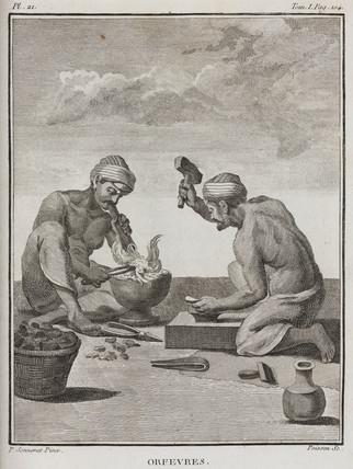 Goldsmiths, India, 1774-1781.