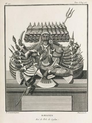 Ravanen, king of the island of Ceylon, 1774-1781.