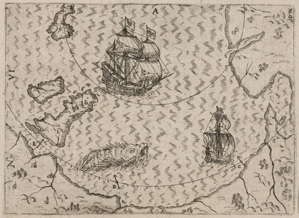 Magnetic variations at sea, 1628.
