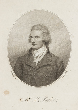 Mungo Park, Scottish explorer, 1799.