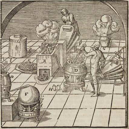 Copper testing, 1580.