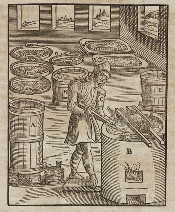 Saltpetre testing, 1580.